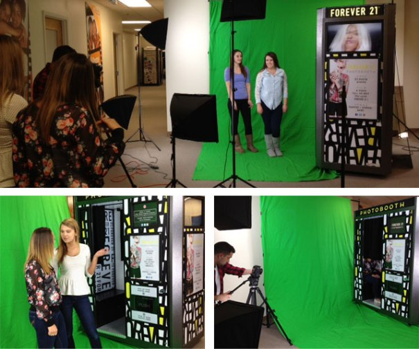 The Innovative Foto office was transformed into a mini studio to produce a short video on the user experience of our retail photo booths.
